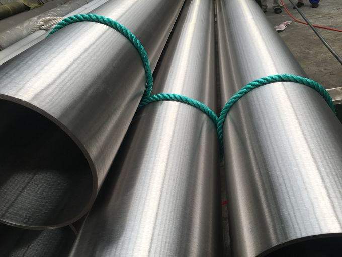 Monel 400 Seamless Nickel Alloy Pipe Bright Surface B165/B725 1MM - 30MM WT 0