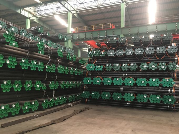 Gas Industry Carbon Steel Pipe 5 - 18mm Wall Thickness With Anti Corrosion 0
